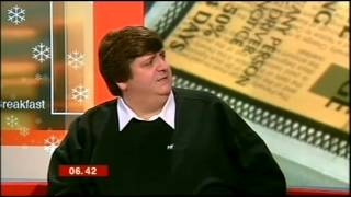 Breakfast - Adam Rayner stifles the burps (20.12.07)