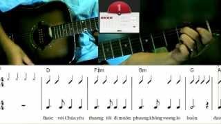 Học đệm đàn guitar cách đơn giản nhất - bài 2