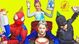 Little Superheroes - The Cold Spiderman at Supergirls Birthday Party