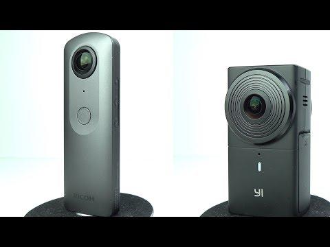 Yi 360 VR vs Ricoh Theta V - 360º Cameras Head to Head