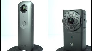 Yi 360 VR vs Ricoh Theta V - 360º Cameras Head to Head