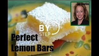 Lemon Bars! Simple Lemon Bars Recipe; Easy Lemon Squares - How To Make Lemon Bars