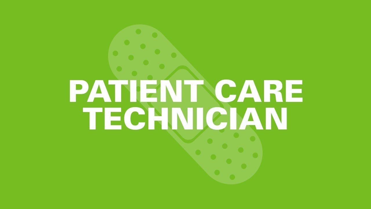 Patient Care Technician - Is it the Right Career For You?