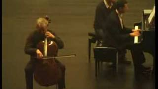 II, Johannes Goritzki, Schumann, Fantasiestucke Op. 73, 2. Lebhaft, leicht, Pi: Leonid Dorfman