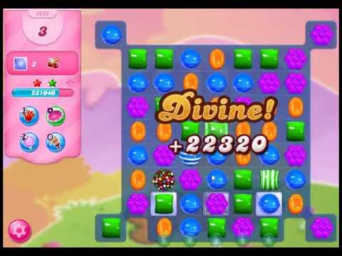 Candy Crush Saga Level 3232 - NO BOOSTERS