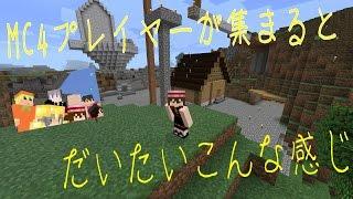 ウホゴリ!!! この動画はGORIRAが運営するMC4クランのメンバーで マイク...