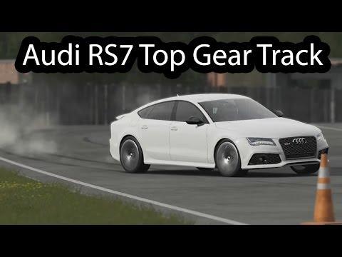 Audi RS7  Top Gear 2014