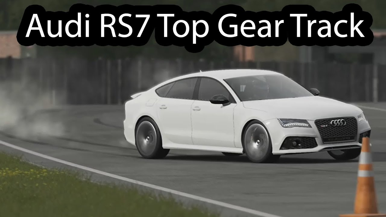 Audi RS7 Top Gear 2014 - YouTube
