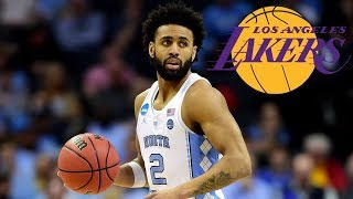 Lakers Sign Undrafted North Carolina Point Guard Joel Berry II