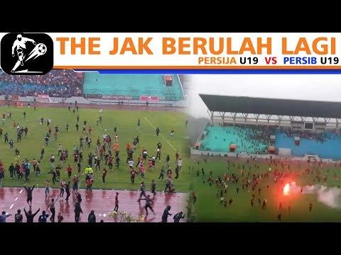 R1CuH.!!! D3tik-D3tik THE JAK Turun Ke Lapangan || Persija U19 Vs Persib U19