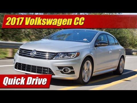 Quick Drive: 2017 Volkswagen CC - TestDriven TV