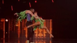America's Got Talent 2015 S10E13 Judge Cuts - Semeneya Latin Dance Trio