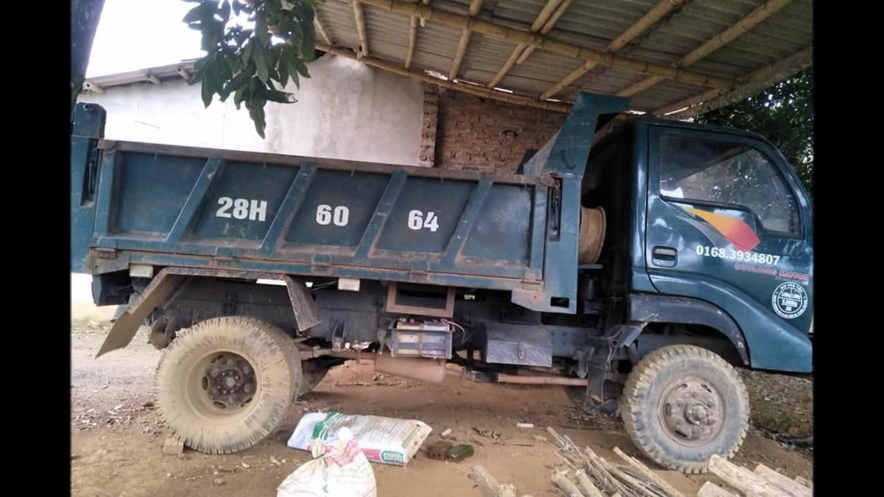 Bán xe tải ben cũ Cửu long 2t5 2008, 0971788286 xe tại Hoà Bình