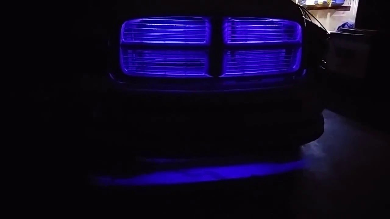 Grill Lights 2005 Dodge Ram Youtube