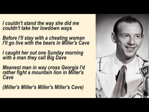 Hank Snow - Miller's Cave with Lyrics