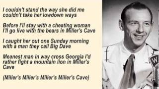 Watch Hank Snow Millers Cave video
