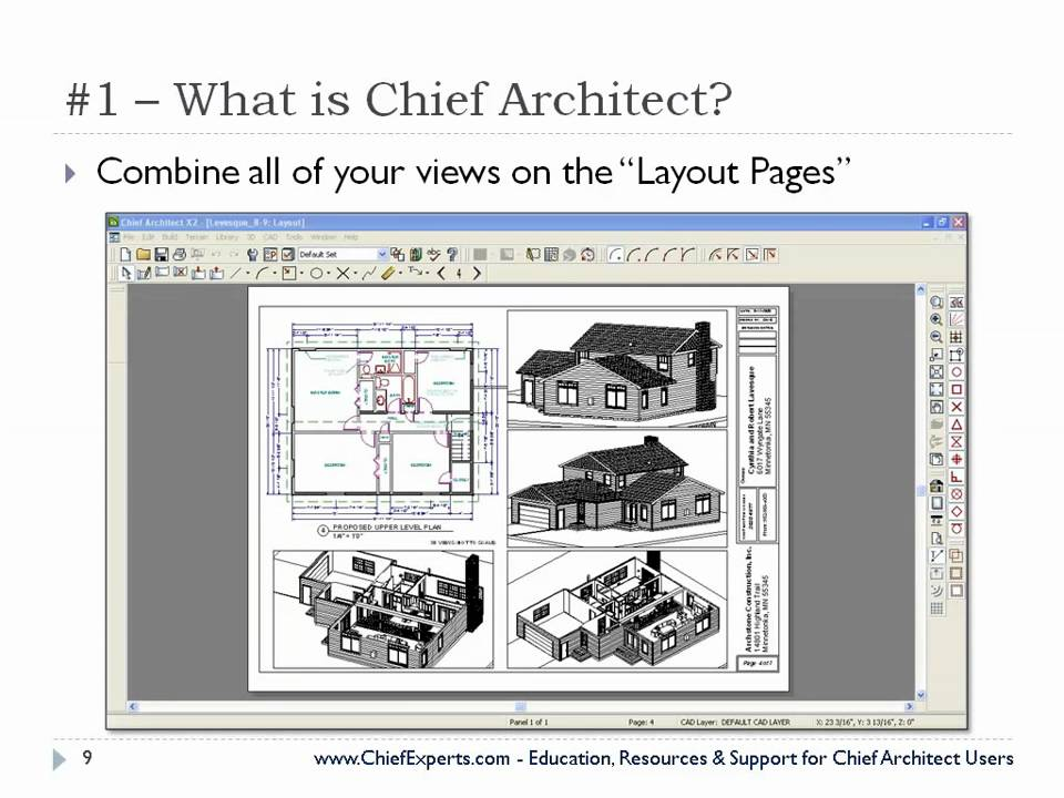 Famous Chief Architect Templates Inspiration - Examples Professional