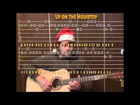 Ukulele ukulele chords up on the housetop : Up On The Housetop (Christmas) Lead Guitar Cover Lesson with TAB ...