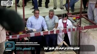 مصر العربية | استخراج طبقة نادرة من المركب الثاني للفرعون