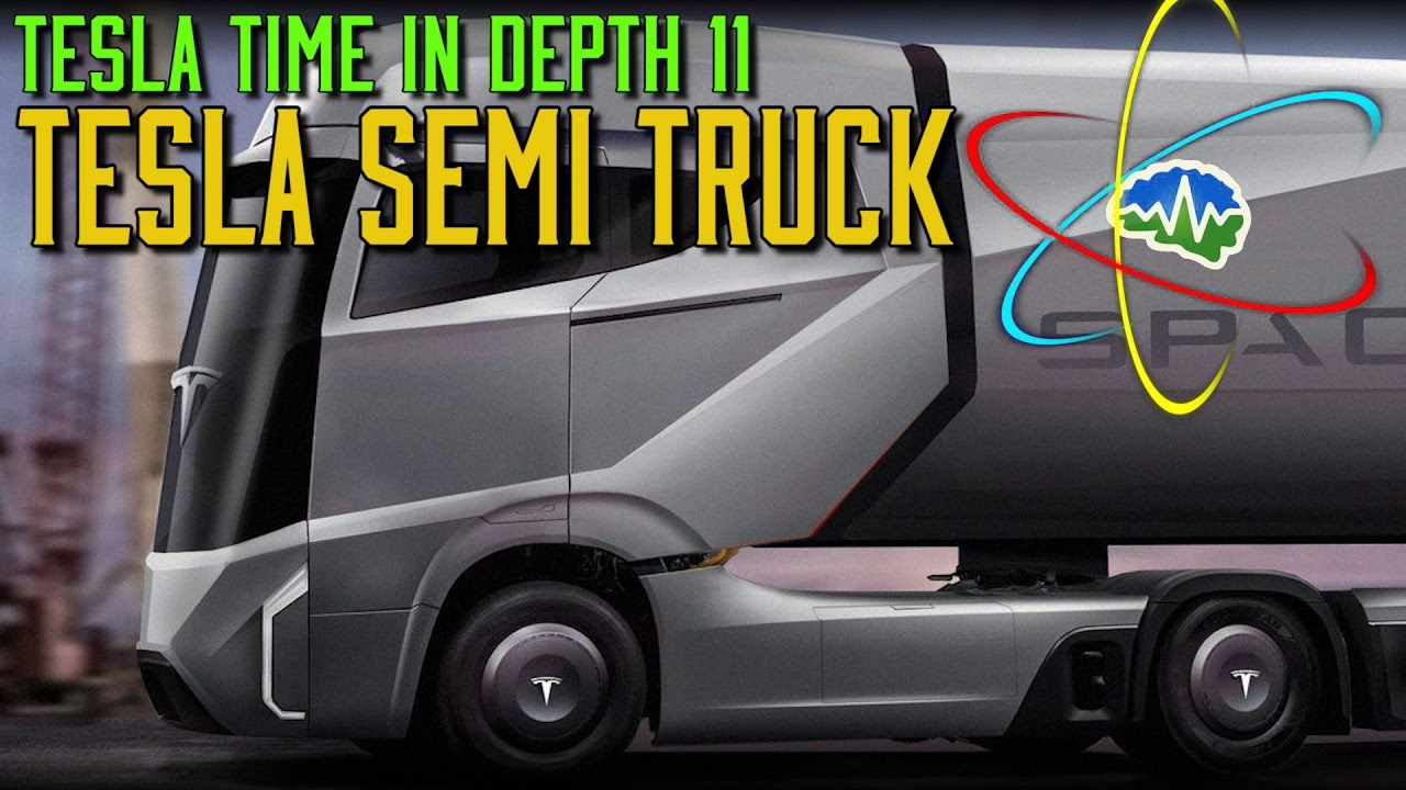 Tesla's electric semi truck will reportedly have a range of 200-300 miles