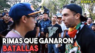 ¡CON ESA RIMA GANARON LA BATALLA! | (Parte 1)