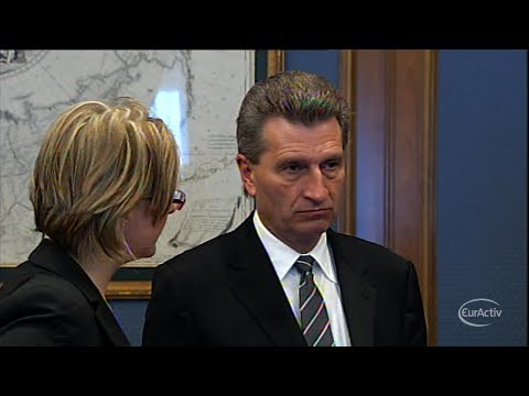 Oettinger:  We have sufficient amount of gas for Europe