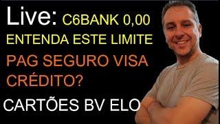 💳Live:Visa Crédito PagSeguro,C6Bank 0,00 Entenda, Nuconta , Nubank, BV Elo grafite, Santander.