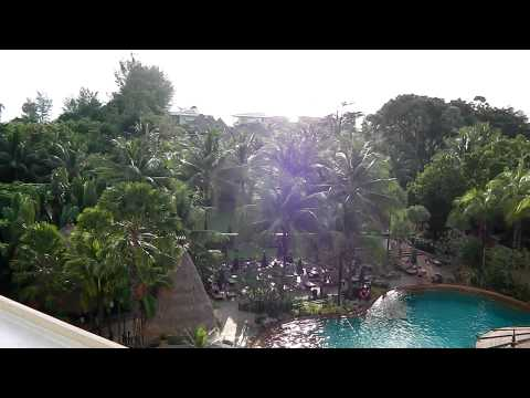 Karon Beach and the Indian Ocean from the Movenpick Hotel.MP4