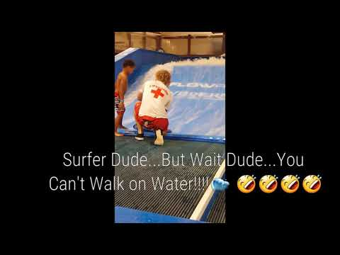 Just when you thought it was safe to walk on water