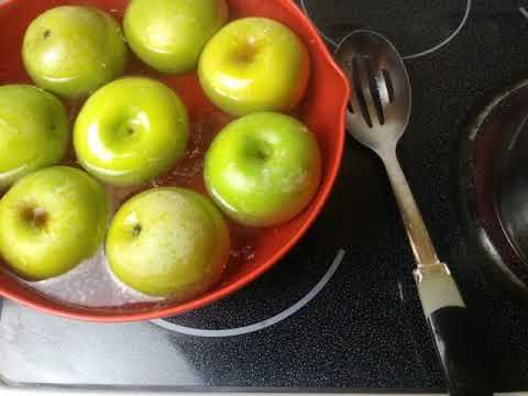 "CANDY APPLE CLEANING METHOD ""BEST CLEANING & RINSE METHOD"