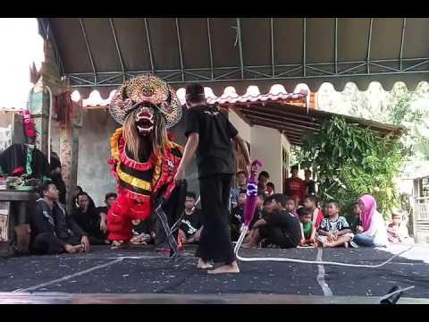 Kiprah SINGO BARONG PANDAWA Crew live Tiudan Tulungagung - rumah Bopo Bajong