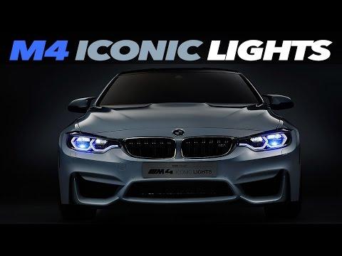 BMW M4 Concept Iconic Lights – LASER OLED Technology