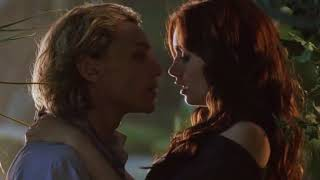 The Mortal Instruments - Jace and Clary first kiss in the greenhouse scene