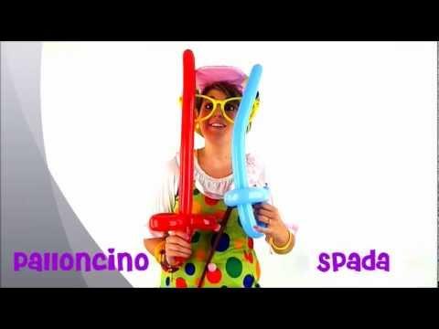 Come Fare Palloncini Sagomati La Spada Youtube