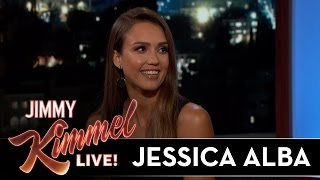 Jessica Alba's Awkward Run-In with Her Biggest Fan