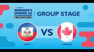 CU20W: Haiti vs. Canada