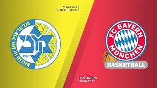Maccabi FOX Tel Aviv - FC Bayern Munich Highlights | Turkish Airlines EuroLeague, RS Round 12