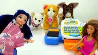 Мультики для девочек - Новый питомец Маринетт - Видео про игрушки