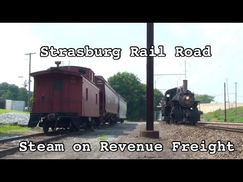 Freight and Passenger Trains on the Strasburg Rail Road