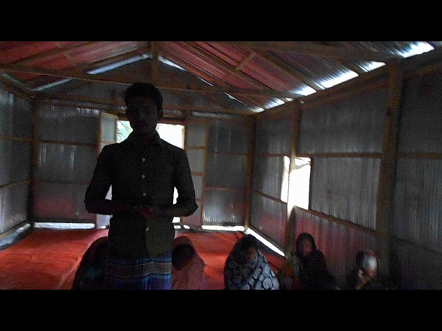 Young Man Reading from the Bible - GMFC/WFF Bangladesh