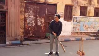 Sourav Ganguly Dada playing in the streets of Kolkata l Rare