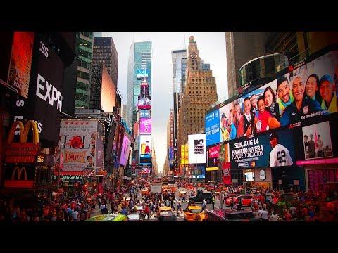 🏙️Times Square (New York) Walking City Tour/ TRAVEL VLOG🏙️