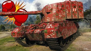 One Punch Man - FV4005 Stage II - World of Tanks Gameplay