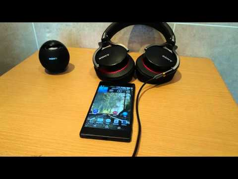 Hi-Res audio and more on the Sony Xperia Z5