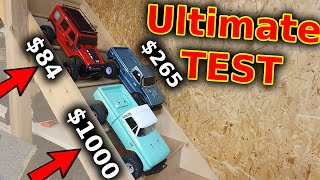 CHEAP vs EXPENSIVE RC Crawler Comparison - The result will surprise you!!