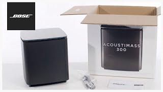 Bose Acoustimass 300 - Unboxing + Setup