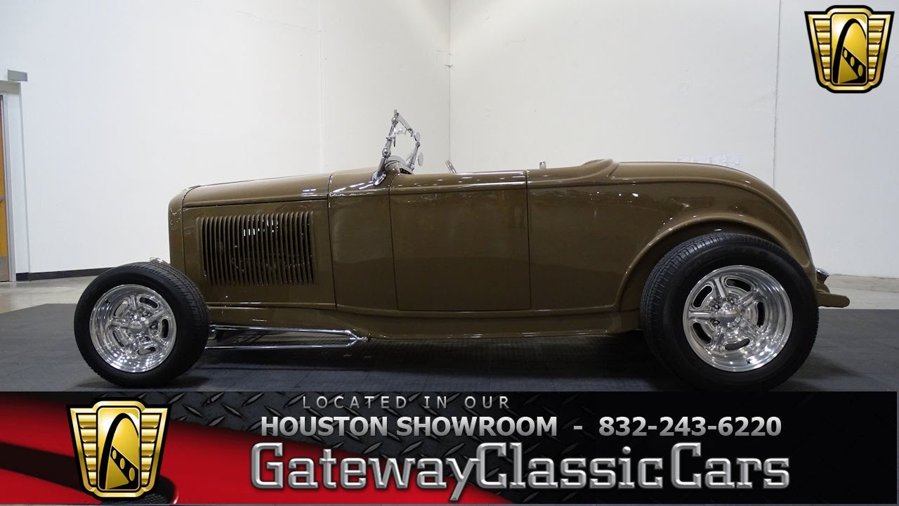 1932 ford model b gateway classic cars 758 houston showroom youtube. Black Bedroom Furniture Sets. Home Design Ideas