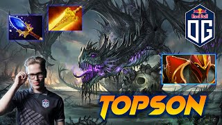 OG.Topson Dragon Knight - Dota 2 Pro Gameplay [Watch & Learn]