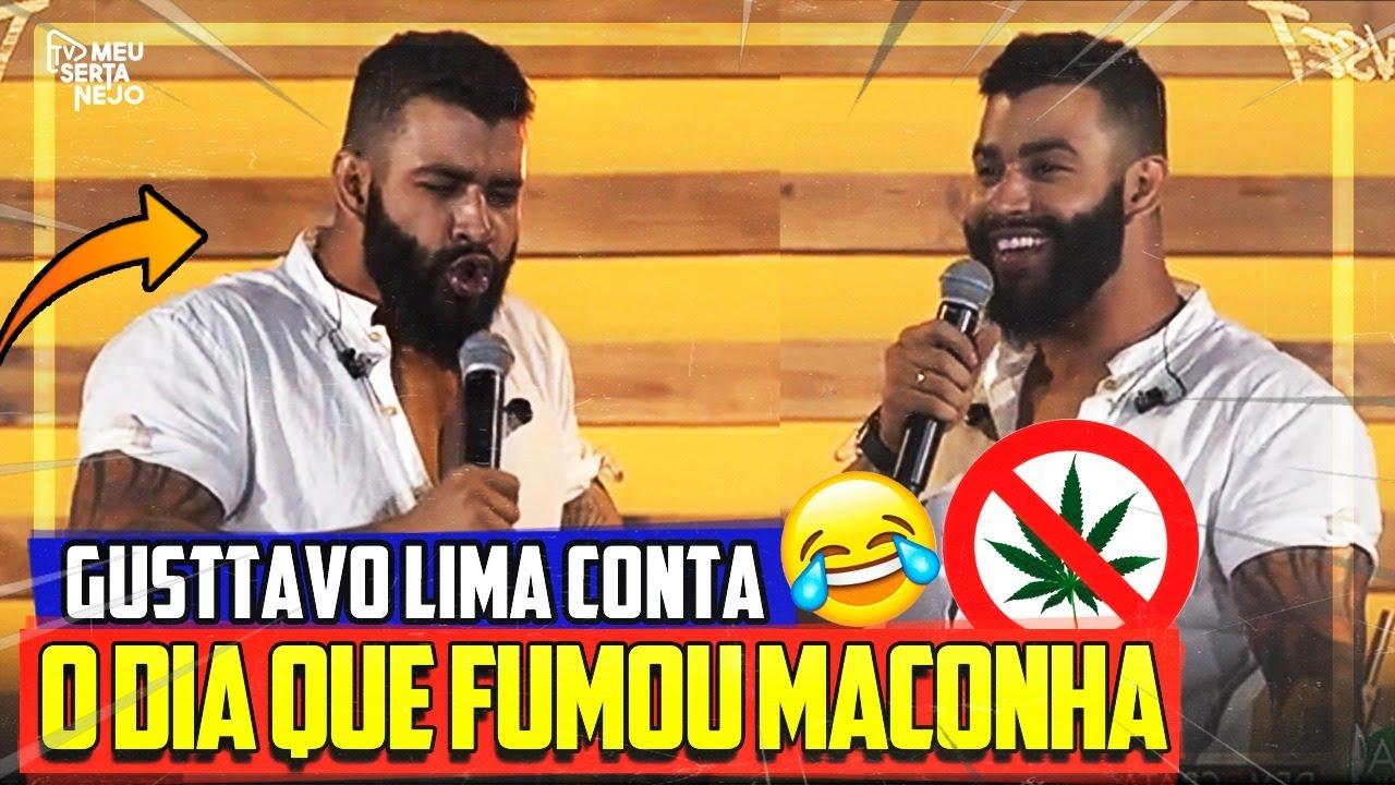 Em LIVE GUSTTAVO LIMA conta história da vez que FUMOU MACONHA e acaba gerando POLÊMICA!!!