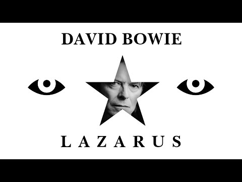David Bowie - Lazarus (Lyrics | Lyric Video) [6' Long Album Version]